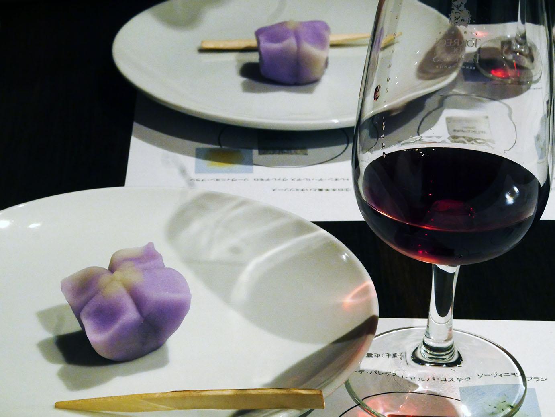 和菓子×ワイン