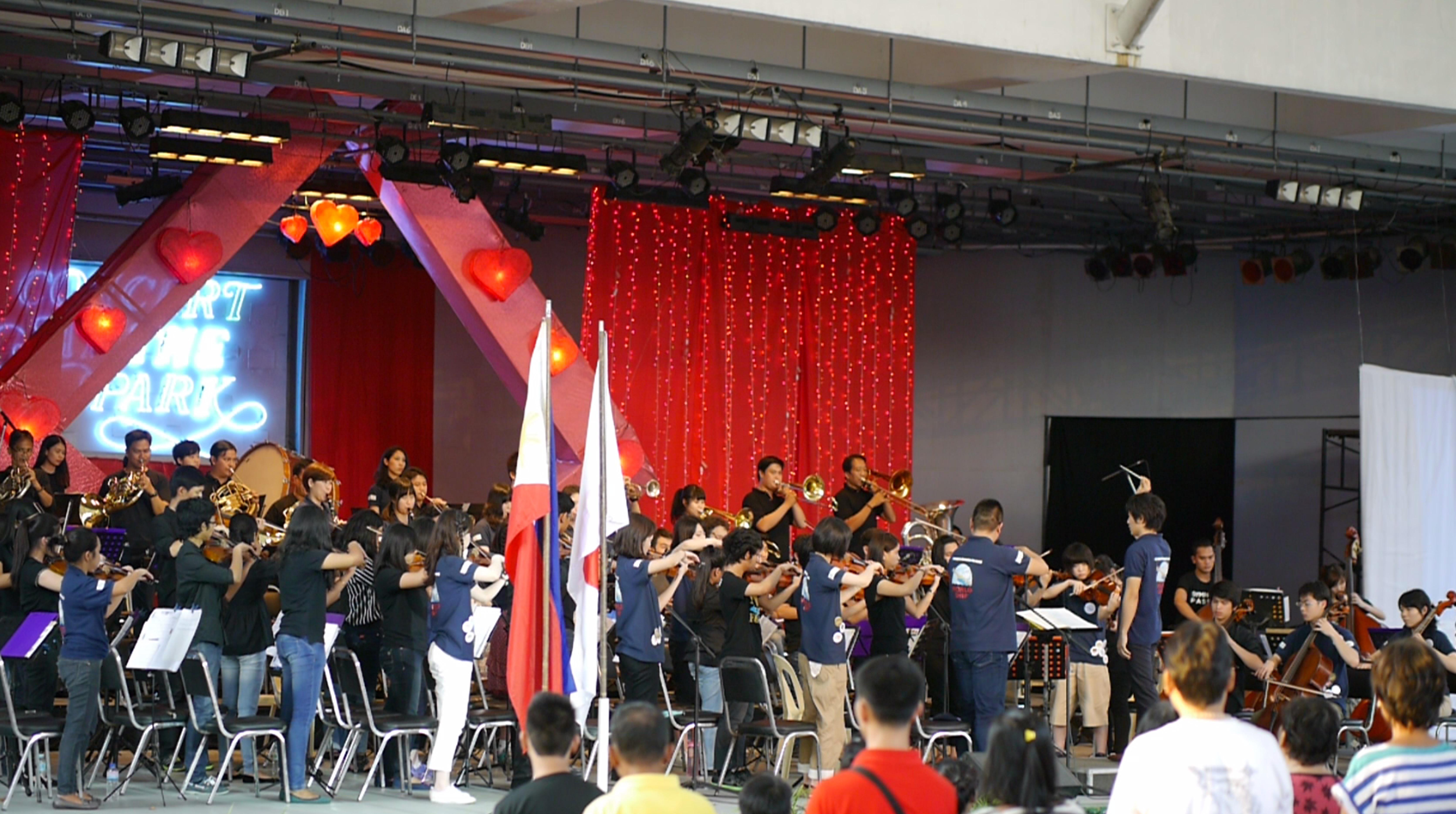 National Anthem (Worldship Orchestra & Manila Symphony Orchestra))
