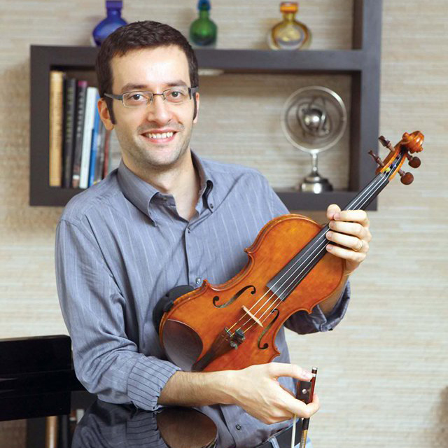 Giovanni Bovisse (Violinist / International School Manila Strings Director, Director of Tondo Chamber Orchestra)