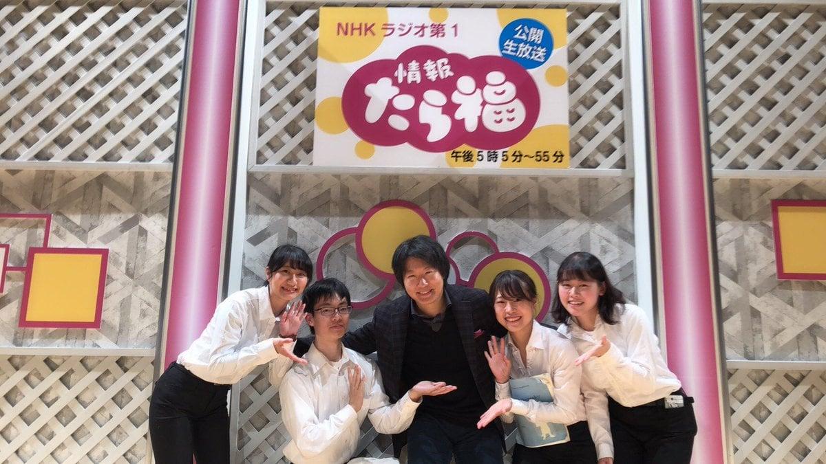 福井大学フィルの学生さんたちと
