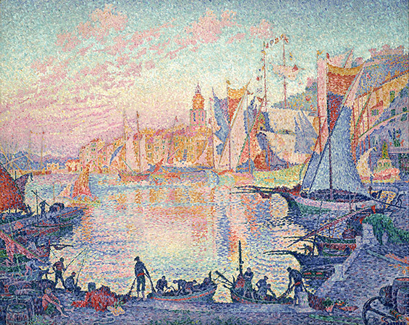 2Paul_Signac_-_The_Port_of_Saint-Tropez_-_Google_Art_Project